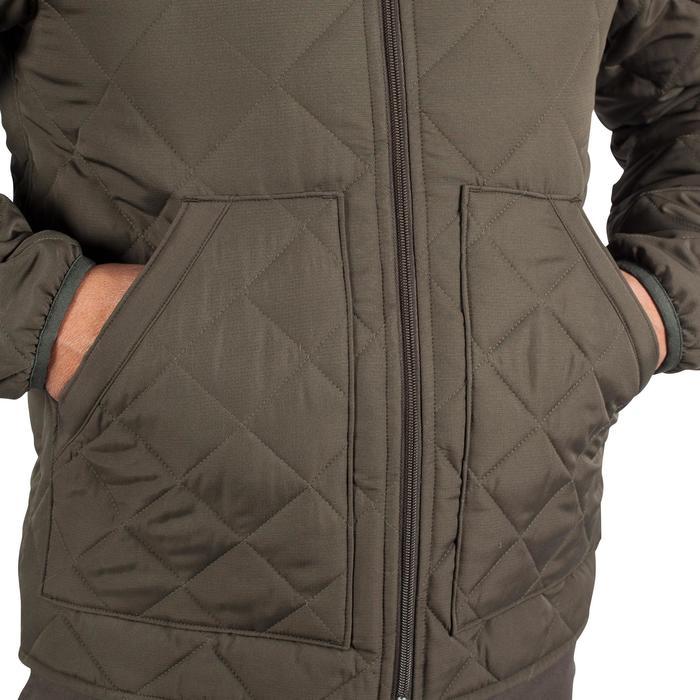荒野探险100系列棉服夹克-绿色