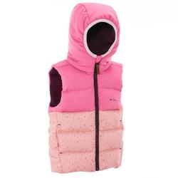 户外运动保暖 舒适儿童保暖马甲 QUECHUA Forclaz 600