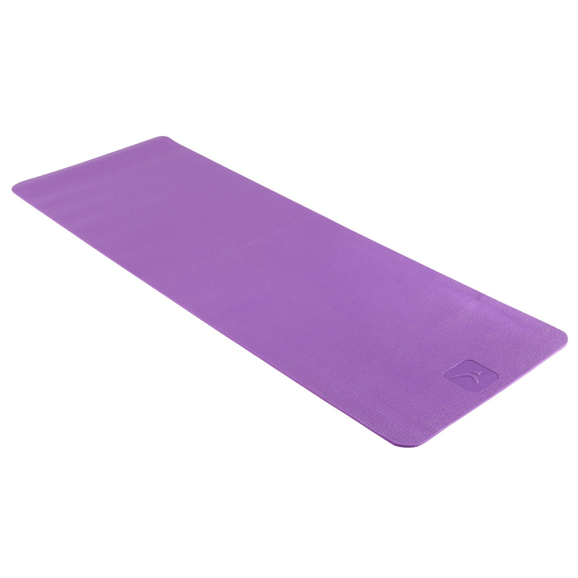 care recovery comfort 8 mm yoga mat domyos decathlon
