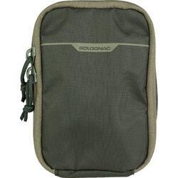 荒野探险耐磨防水男女腰包 SOLOGNAC X-Access 12x18 cm