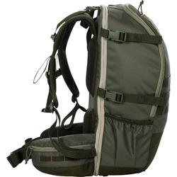 荒野探险多功能组合背包45L-军绿色