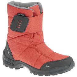 户外运动保暖防水儿童雪地靴 QUECHUA ARPENAZ 100 Warm