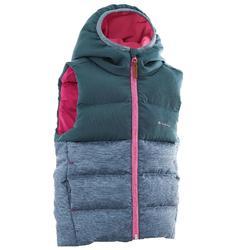 儿童登山填充保暖背心 X-Warm - 灰色