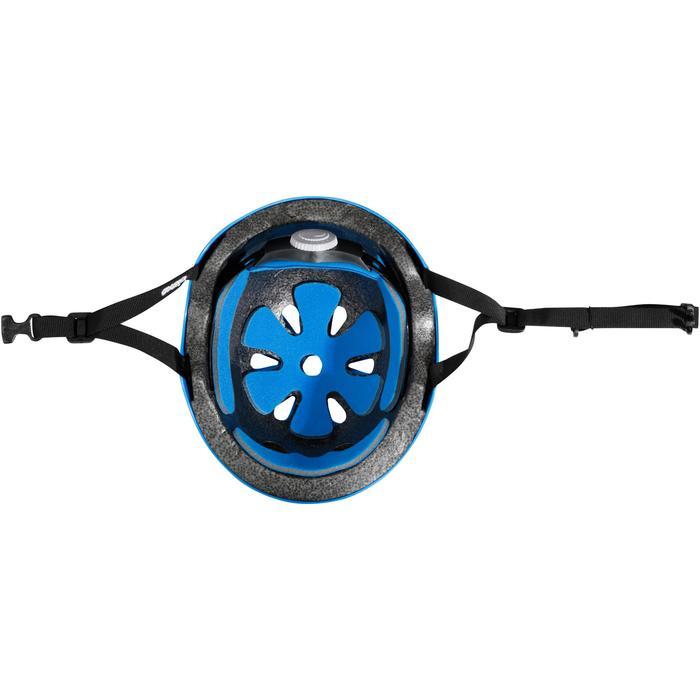 直排轮滑板滑板车自行车头盔Play 3 - Blue