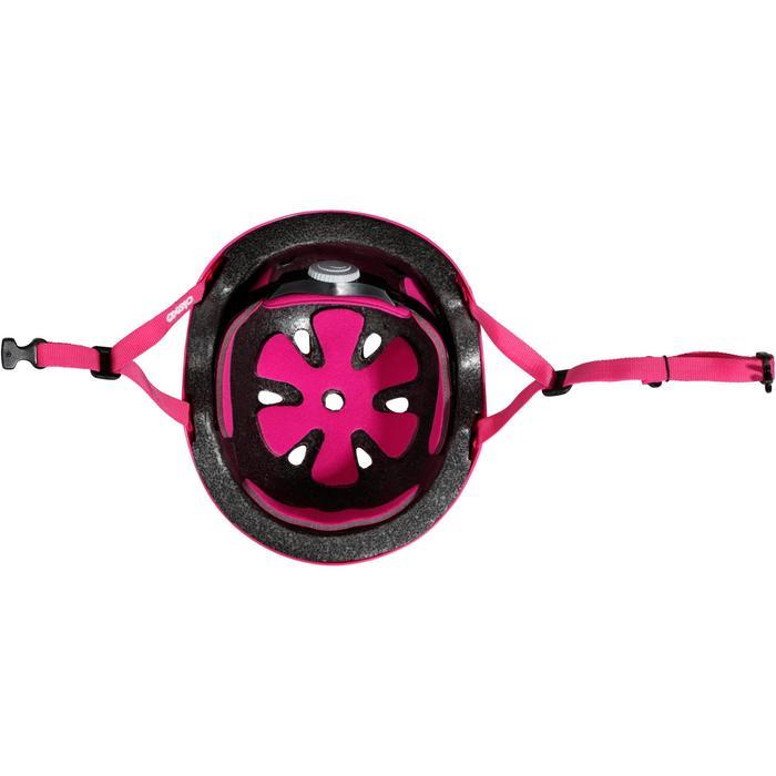 直排轮滑板滑板车自行车头盔Play 3 - Pink
