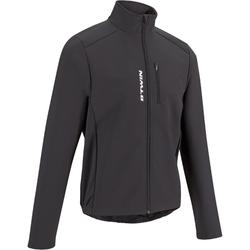 100 Winter Road Cycling Cyclotourism Jacket - Black
