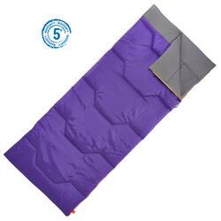户外运动户外露营15度成人信封棉睡袋 QUECHUA ARPENAZ 15°