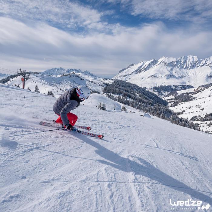 成人和青少年滑雪护目镜G 140 适用于晴好天气- White