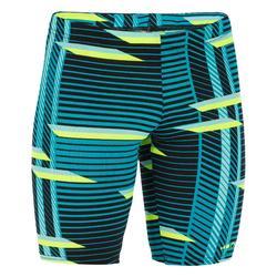 游泳运动长款平角训练抗氯男童五分泳裤 NABAIJI JAMMER