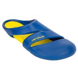 男式泳池拖鞋 NATASAB COMFORT BLUE YELLOW