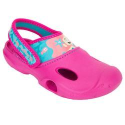 女童泳池凉鞋 100 MERMAID PINK