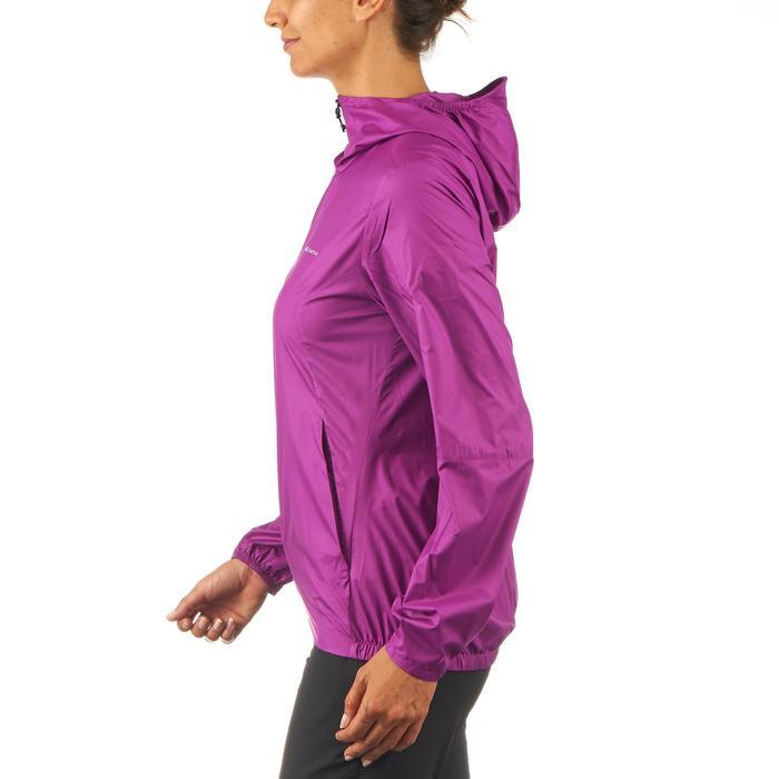 女士防晒风衣 HELIUM WIND 100 - 紫色