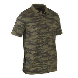荒野探险全棉舒适透气抗侵蚀男士短袖体恤 Polo衫 SOLOGNAC