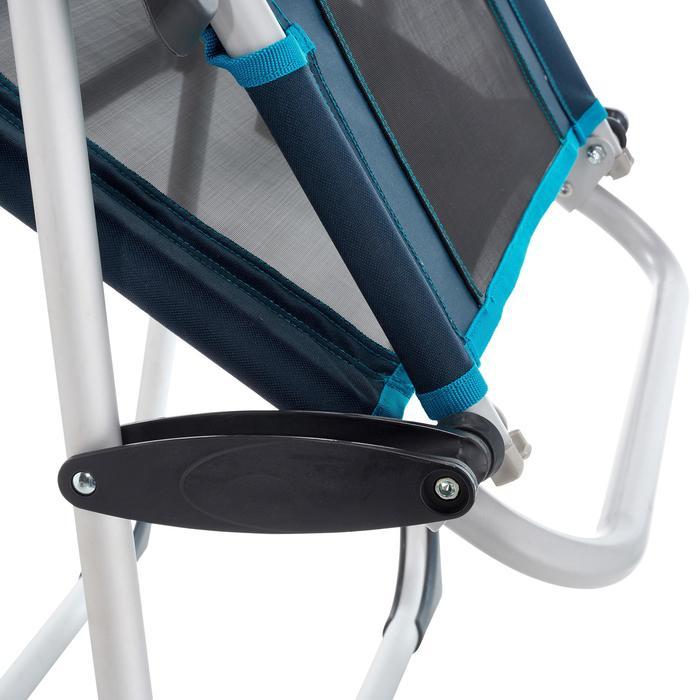 露营躺椅-扶手款-蓝色 | 郊野徒步