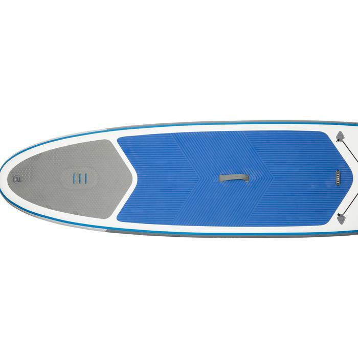 100 Inflatable 10'7 Touring Stand Up Paddle - Blue - 1077029