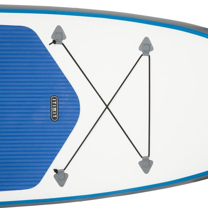 100 Inflatable 10'7 Touring Stand Up Paddle - Blue - 1077112