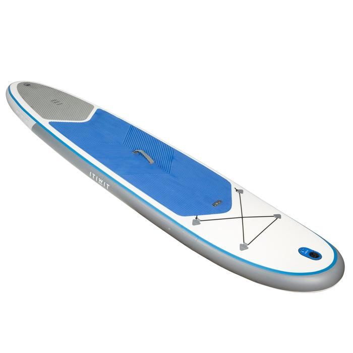 100 Inflatable 10'7 Touring Stand Up Paddle - Blue - 1077124