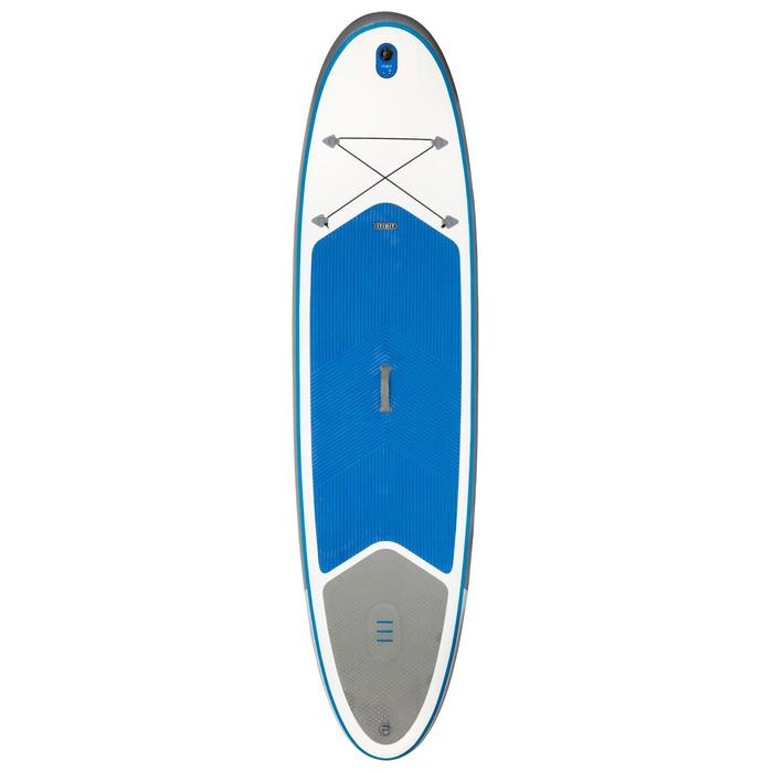100 Inflatable 10'7 Touring Stand Up Paddle - Blue - 1077695