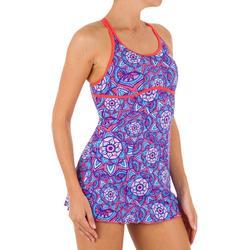 游泳运动优雅时尚女士连体裙式泳衣 NABAIJI Riana