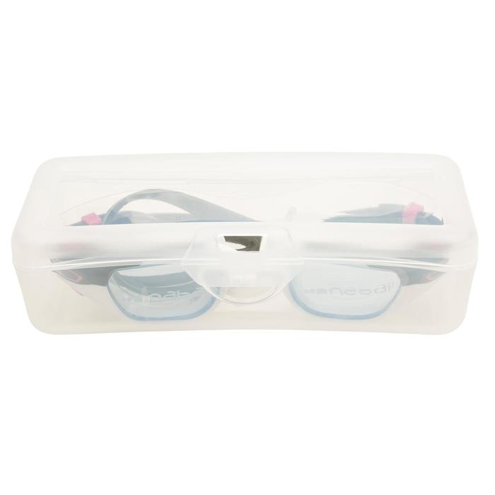游泳眼镜SPIRIT S 号- White Pink, Clear Lenses