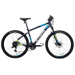 自行车运动铝合金车架 可调节前叉 轮径 SRAM24级变速碟刹27.5寸运动山地自行车 B'TWIN BTWIN ROCKRIDER 520 RR520
