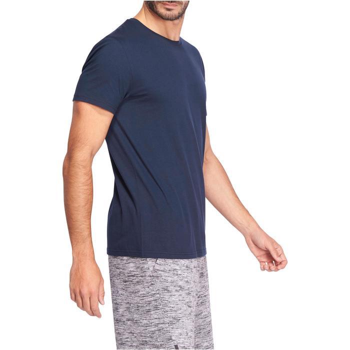 男式基础健身直筒弹力 T 恤