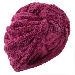 柔软微纤维干发毛巾- Dark Purple