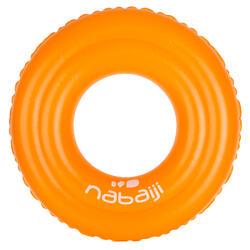 游泳运动加厚双气室儿童婴幼儿游泳圈充气圈 NABAIJI 51 cm 11-30 kg