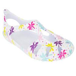 儿童凉鞋 S 100 Inj Palm 粉色