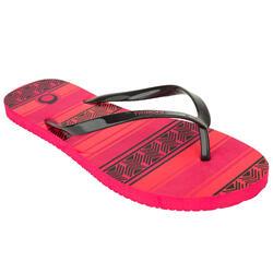 冲浪运动抗盐 防滑女士沙滩夹脚拖鞋 OLAIAN TO 100