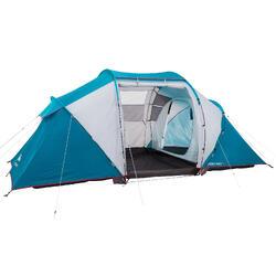 搭建式帐篷-4人-2室1厅 | 郊野徒步