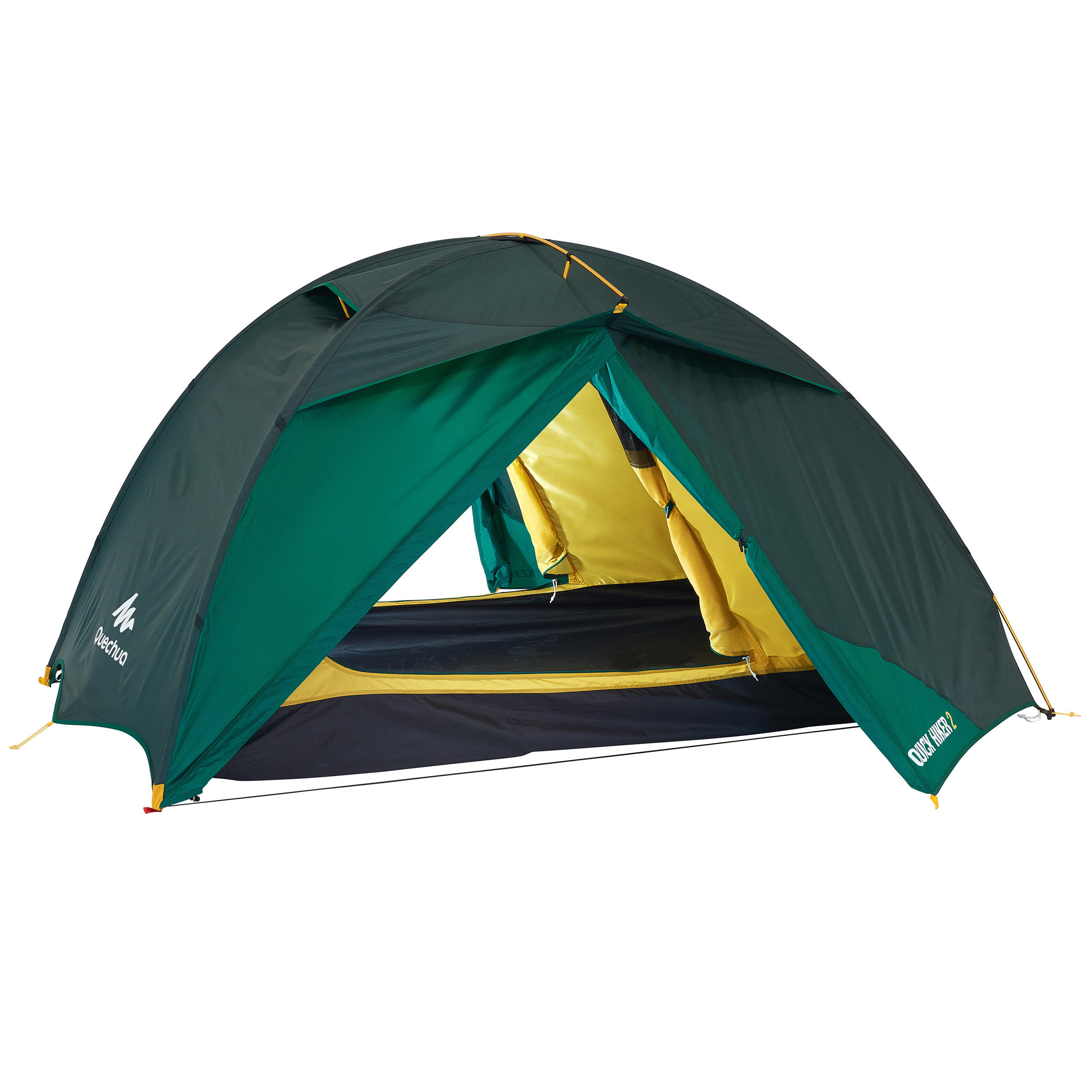 Quick Hiker Bivouac/Trekking/Hiking Tent - 2-Man Green - 1099160  sc 1 th 225 & 1 to 3 pers tents Quick Hiker Bivouac/Trekking/Hiking Tent - 2-Man ...
