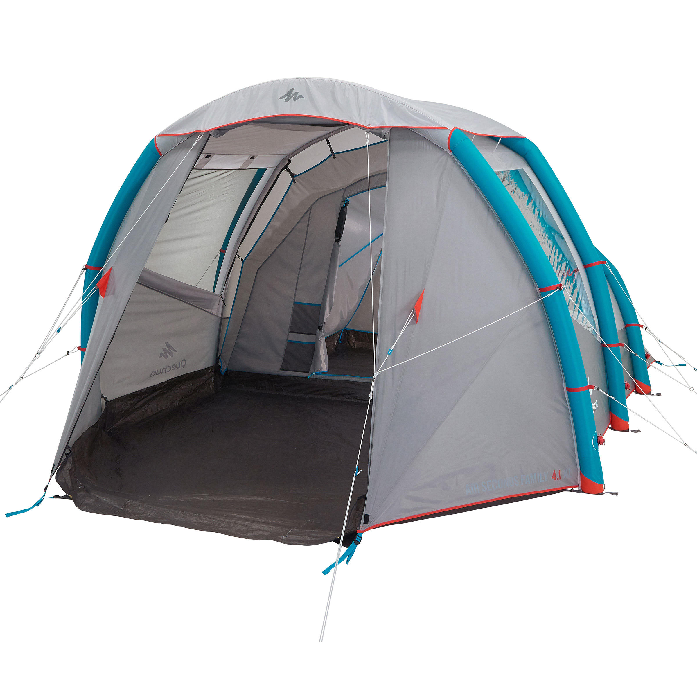 Air Seconds 4.1 xl Family C&ing Tent | 4-Person - 1099235  sc 1 th 225 & 4 to 8 pers tents Air Seconds 4.1 xl Family Camping Tent | 4 ...