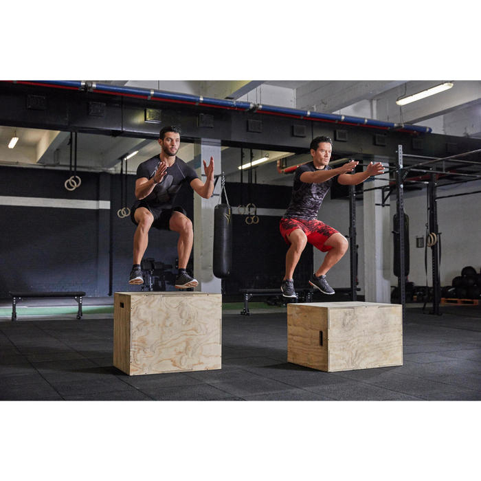健身和重量训练短裤 MUSCLE