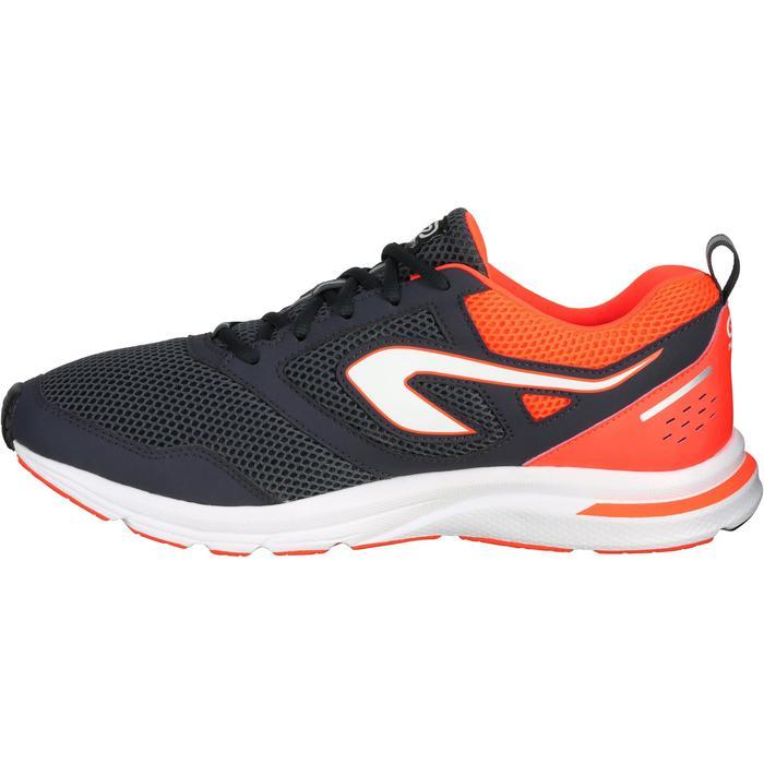 RUN ACTIVE男士跑鞋-橙红/灰黑配色