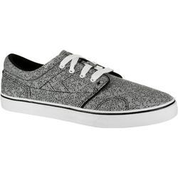 成人滑板长板低帮板鞋Vulca 100 - All Over Grey