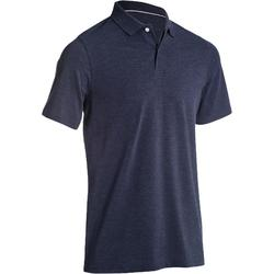 高尔夫运动舒适透气高含棉男士短袖POLO INESIS 500系列