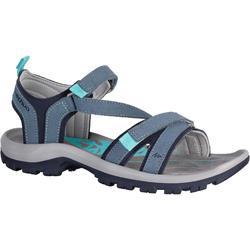 户外运动舒适耐磨女士登山凉鞋 QUECHUA ARPENAZ 120