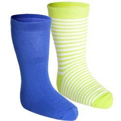 基础塑形/普拉提棉质舒适婴幼儿健身袜袜子 DOMYOS Gym Socks