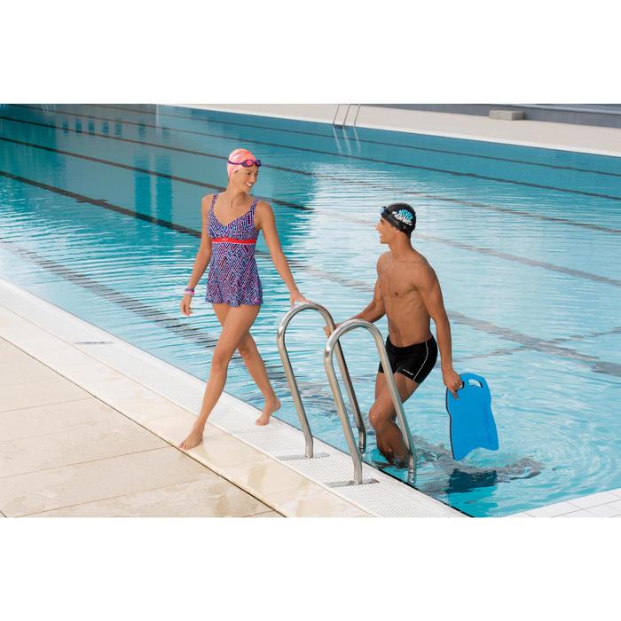 女式连体塑身泳衣Kaipearl - Pink