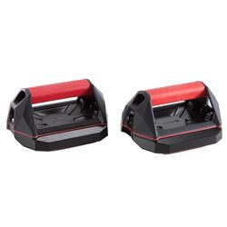 多功能俯卧撑轮 循环训练配件- 红色/黑色