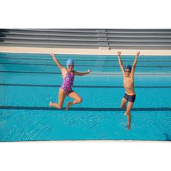 游泳眼镜100 XBASE S号 - DYE Pink Blue