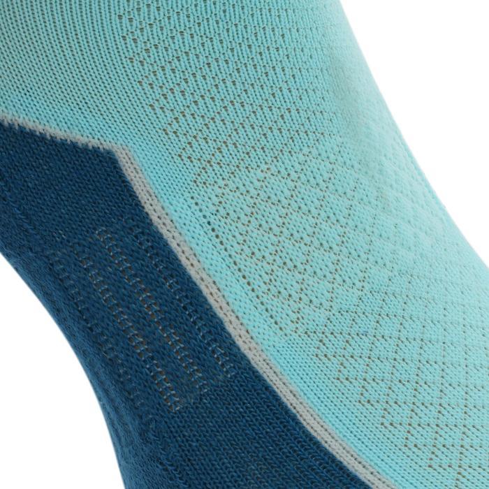 自然徒步短袜ARPENAZ 100 2 双装 - 天蓝色