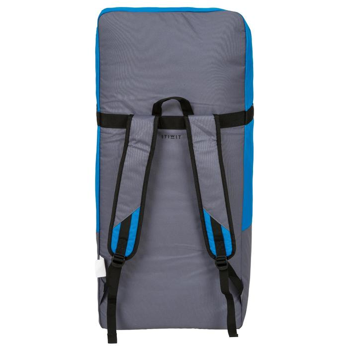 100 Inflatable 10'7 Touring Stand Up Paddle - Blue - 1132586