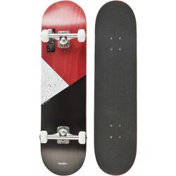 轮滑运动耐用易学滑行流畅加拿大枫木滑板成人儿童滑板 OXELO Skateboard Team 8th