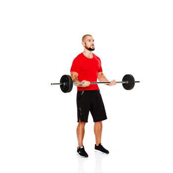 肌肉塑形训练杠铃杆 6公斤1.20米