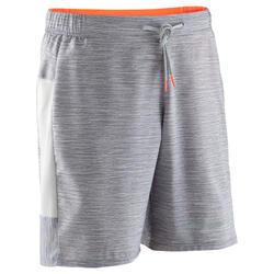 男式跑步运动快干短裤 - 斑驳灰