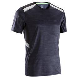 跑步运动快干夜跑反光男士短袖T恤 KALENJI RUN DRY+