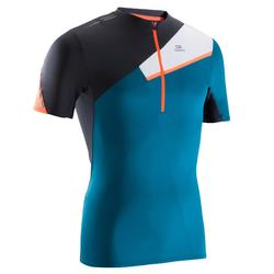 跑步运动轻盈快干耐磨男士越野跑短袖T恤 KALENJI TRAIL