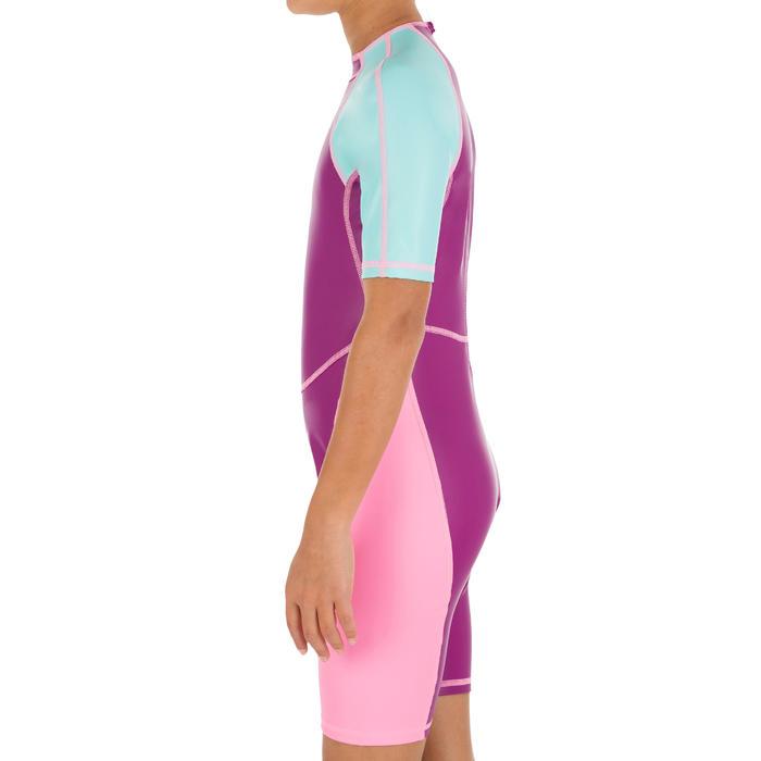 女童连体泳衣Kloupi - Purple Pink